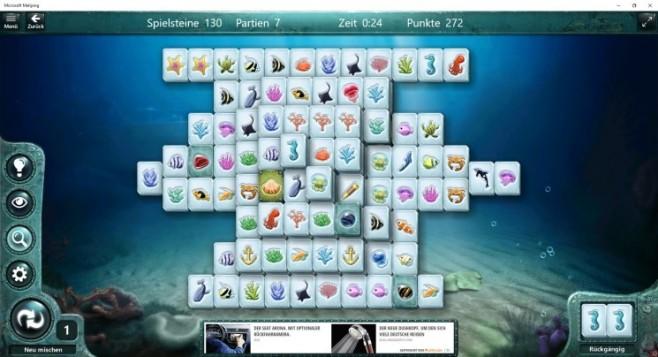 Microsoft Mahjong ©Microsoft