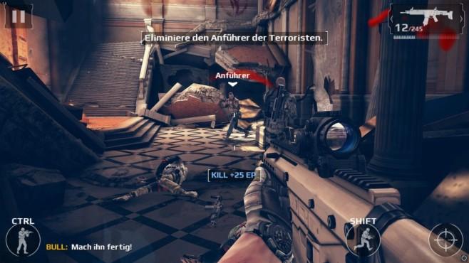 Modern Combat 5: eSports FPS ©Gameloft
