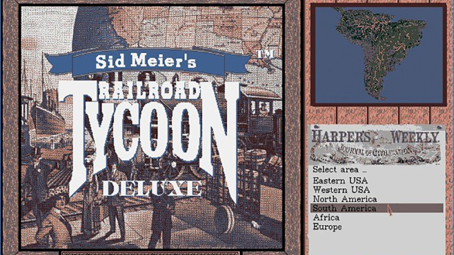 Railroad Tycoon Deluxe © 2K Games