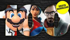 100 kostenlose Spiele©iStock.com/igoriss/Nintendo/Epic Games/Valve