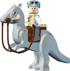 Lego Star Wars 2: Im Lego-Outfit machen die Sternenkrieger eine angenehm komische Figur.