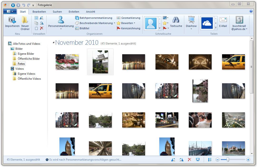 Screenshot 1 - Windows Fotogalerie 2012