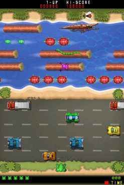 Actionspiel Frogger: Frosch