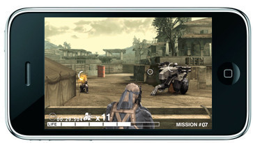Actionspiel Metal Gear Solid Touch: Solid Snake