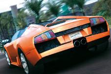 Test Drive Unlimited: Pfeffer im Heck: der Lamborghini Murcielago.