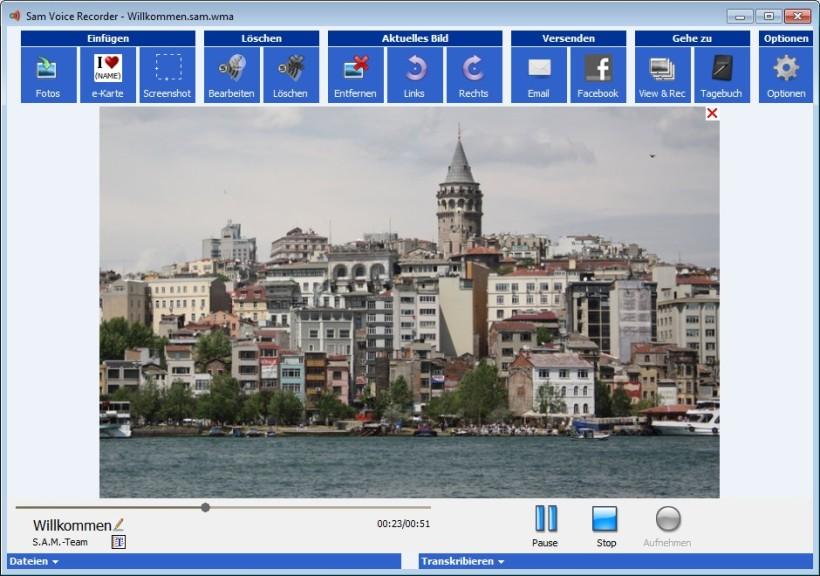 Screenshot 1 - Speak-A-Message