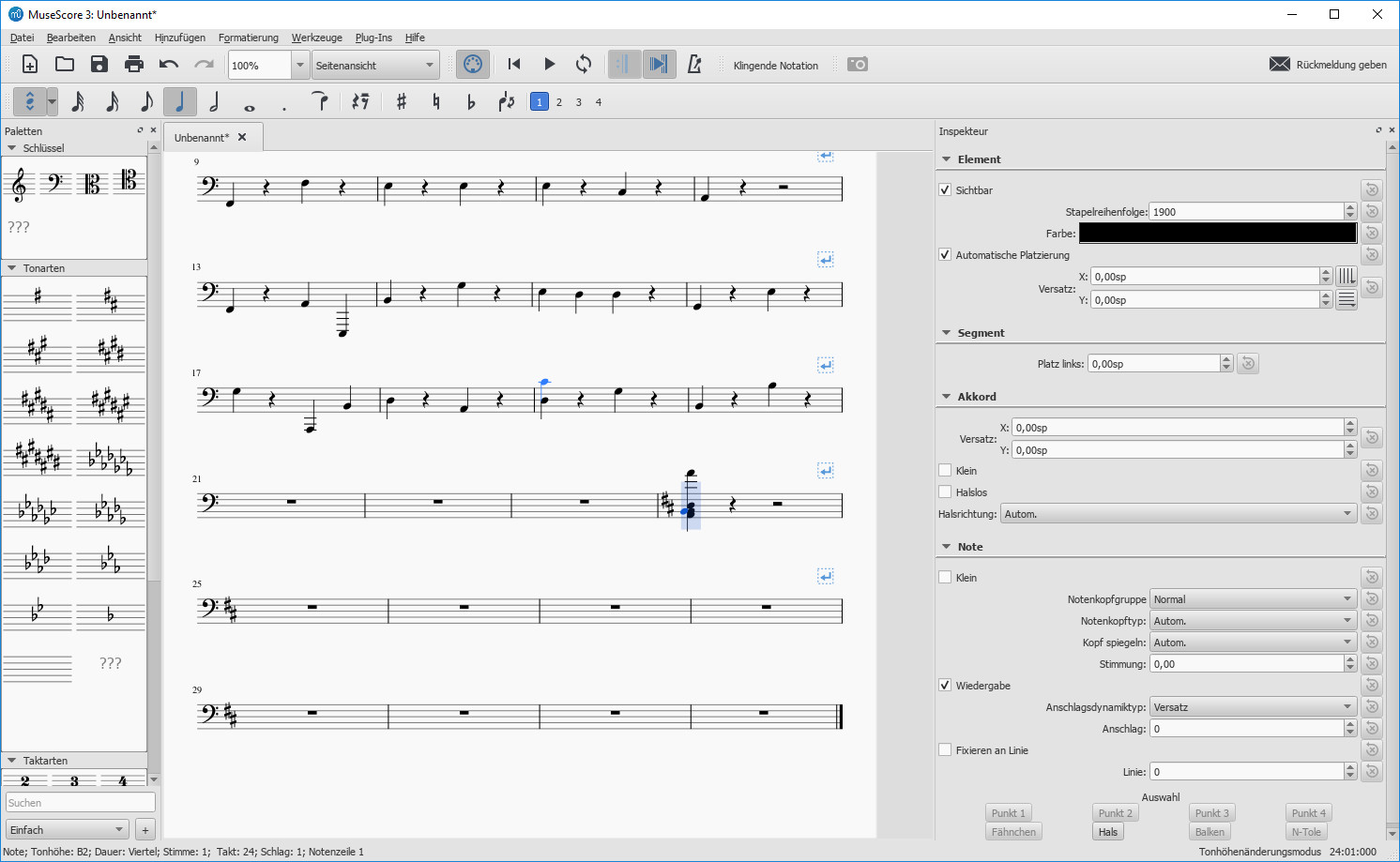 Screenshot 1 - MuseScore
