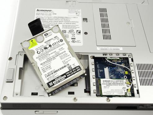 Notebook-Fallen: Festplatte ©COMPUTER BILD