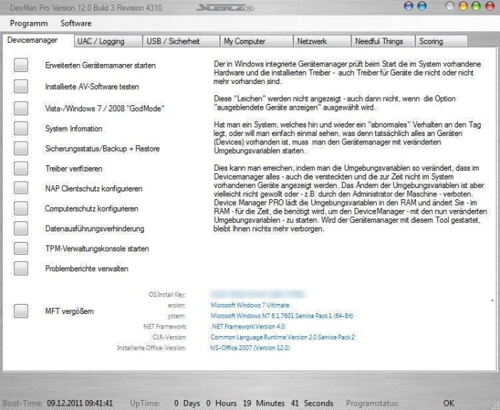 Screenshot 1 - Device Manager Pro