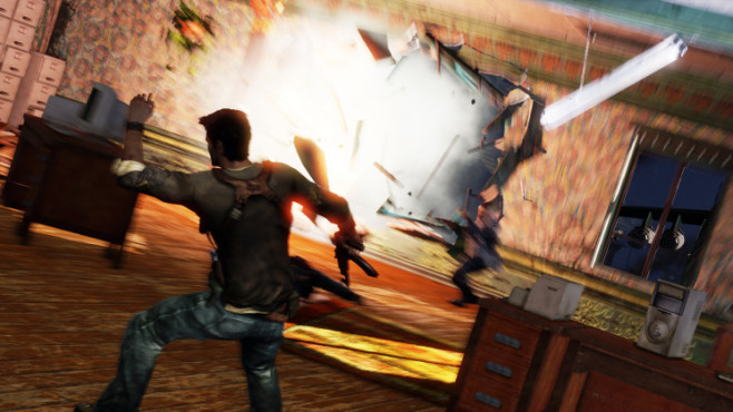 Actionspiel Uncharted 2 – Among Thieves: Explosion