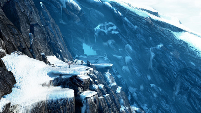 Actionspiel Uncharted 2 – Among Thieves: Gebirge