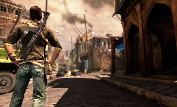 Actionspiel Uncharted 2 – Among Thieves: Gewehr