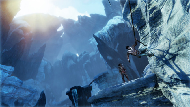 Actionspiel Uncharted 2 – Among Thieves: Klettern