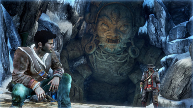 Actionspiel Uncharted 2 – Among Thieves: Statue