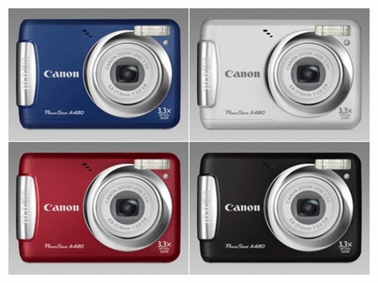 powershot a480 seniorenkamera von canon audio video foto bild. Black Bedroom Furniture Sets. Home Design Ideas