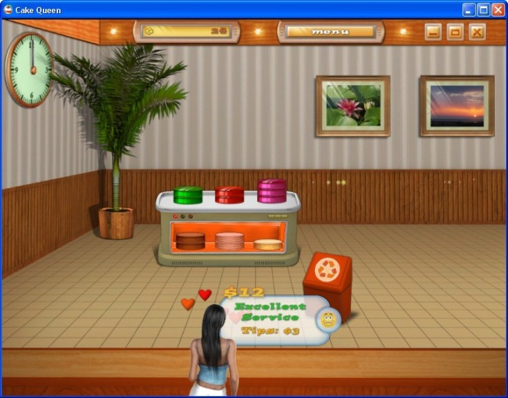 Screenshot 1 - Cake Queen