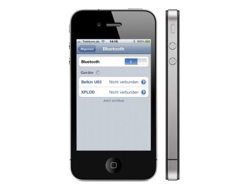 iPhone: Bluetooth zehrt am Akku ©Apple