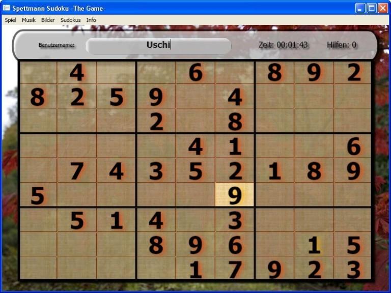 Screenshot 1 - Sudoku – The Game