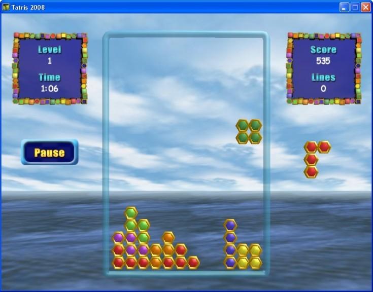 Screenshot 1 - Tatris 2008
