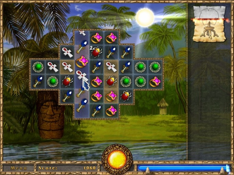 Screenshot 1 - Treasure Puzzle