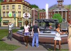 Simulation Die Sims 3: Brunnen