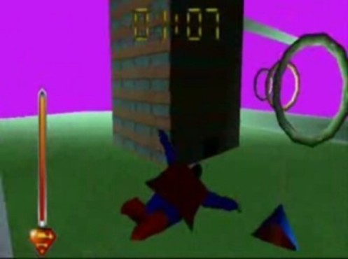 Actionspiel Superman 64: Ringe © COMPUTER BILD