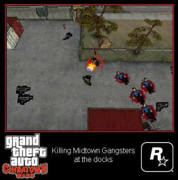 Actionspiel Grand Theft Auto – Chinatown Wars: Kampf