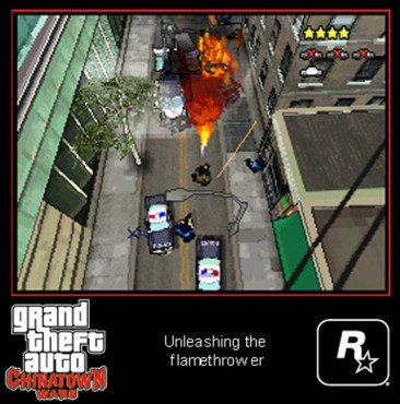 Actionspiel Grand Theft Auto – Chinatown Wars: Polizei