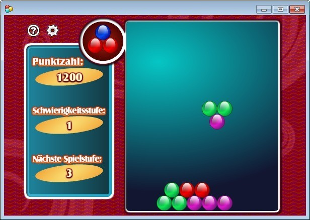 Screenshot 1 - Pile of Balls (Kugelhaufen)