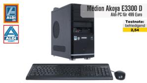 Medion Akoya E3300 D: Aldi-PC  im Test