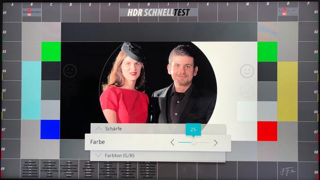 HDR Fernseher einstellen©COMPUTER BILD