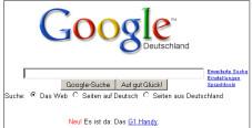 G1-Werbung auf Google