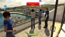 Virtuelle Spielewelt: Balkon