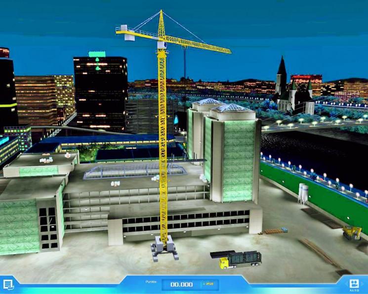 kran simulator 2009 test zur simulation f r pc computer. Black Bedroom Furniture Sets. Home Design Ideas