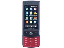 Samsung S8300 Das Schiebehandy bietet neben Bildschirmbedienung auch eine aufschiebbare Handytastatur für SMS und Rufnummern.