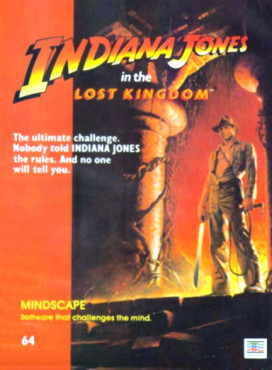 Indiana Jones Geschichte: Indiana Jones and the lost Kongdom