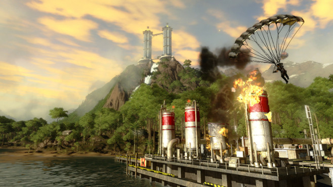 Actionspiel Just Cause 2: Großkaliber