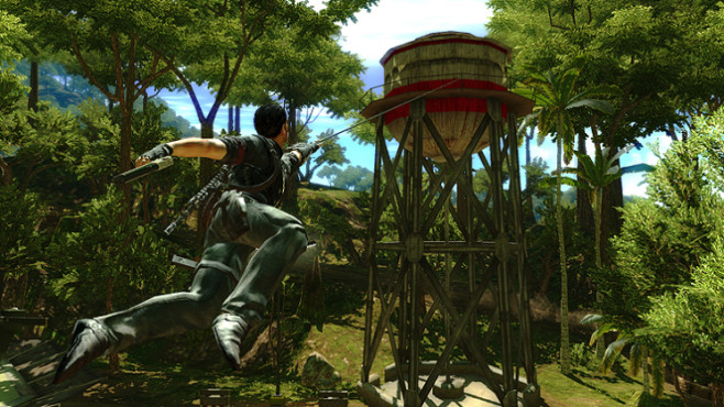 Actionspiel Just Cause 2: Haken