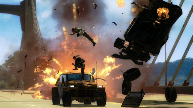 Actionspiel Just Cause 2: VIP
