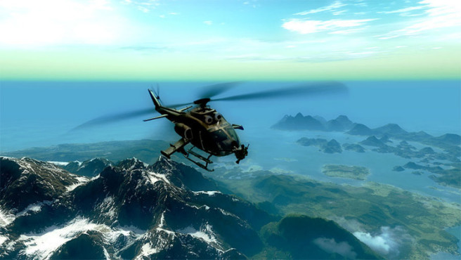 Just Cause 2: Hijacking