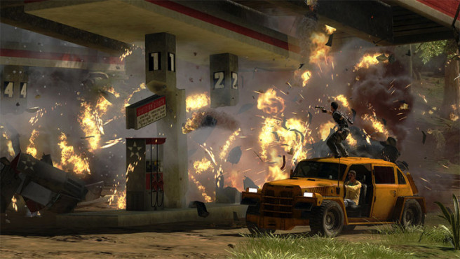 Just Cause 2: Tankstelle