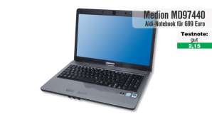 Video zum Test: Aldi-Notebook Medion Akoya MD 97440