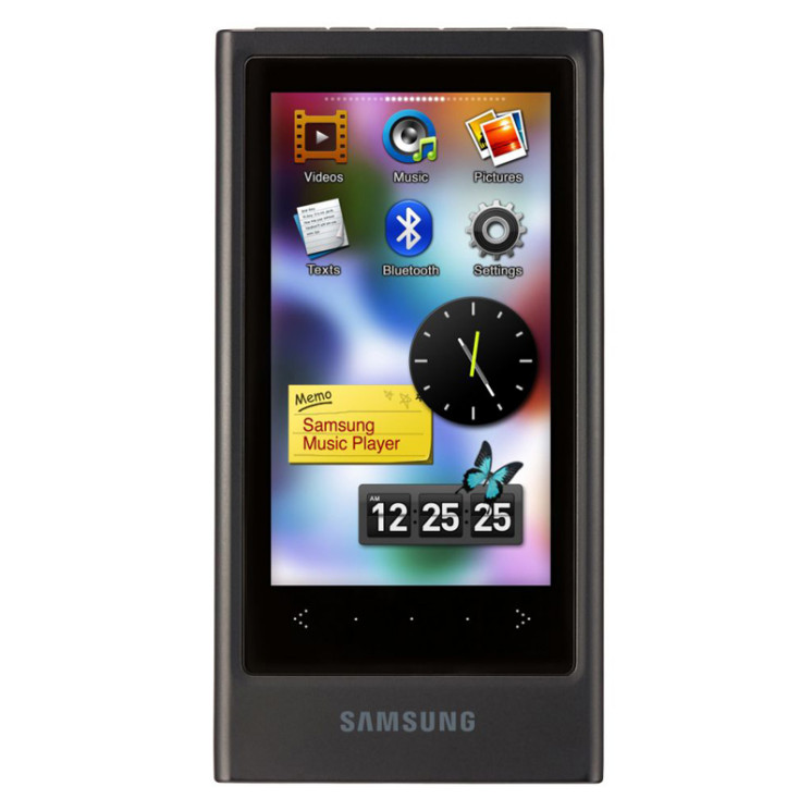 samsung yp p3 mp3 player mit touchscreen audio video. Black Bedroom Furniture Sets. Home Design Ideas