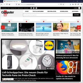 Server IP für Firefox