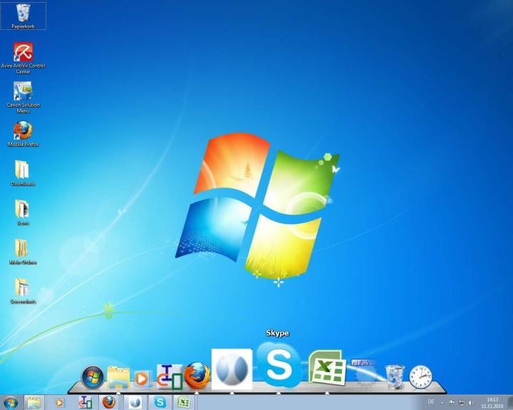 Screenshot 1 - ObjectDock