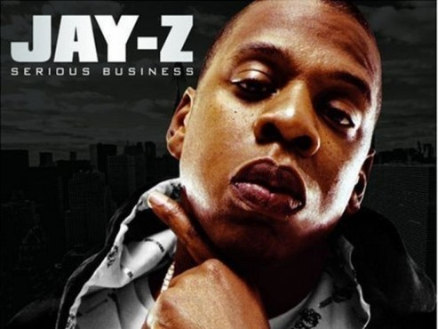 CD-Cover: Jay-Z – Serious Business