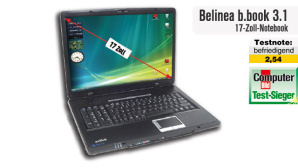 Video zum Testsieger 06/09: 7 Notebook Belinea b.book 3.1