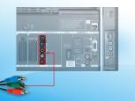 Komponenteneingang für DVD-Player©COMPUTER BILD