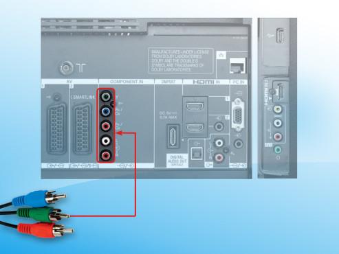 Komponenteneingang für DVD-Player ©COMPUTER BILD
