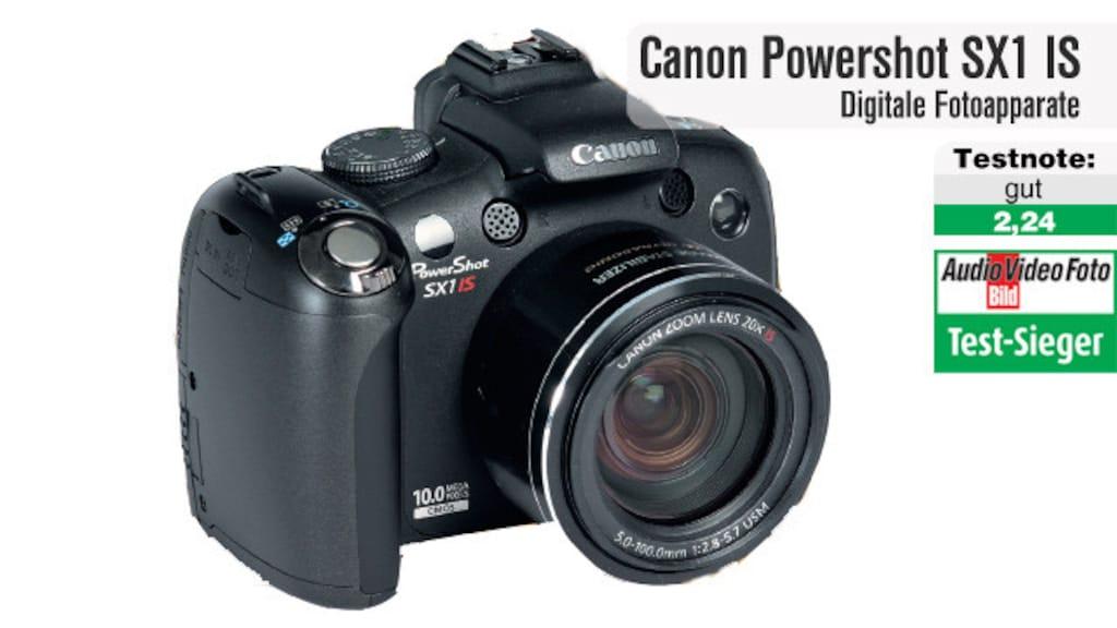 Testsieger Canon Powershot SX1 IS